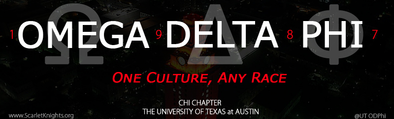 UT ODPhi Chi Chapter Header